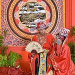 Pernikahan dengan pakaian adat chinesse
